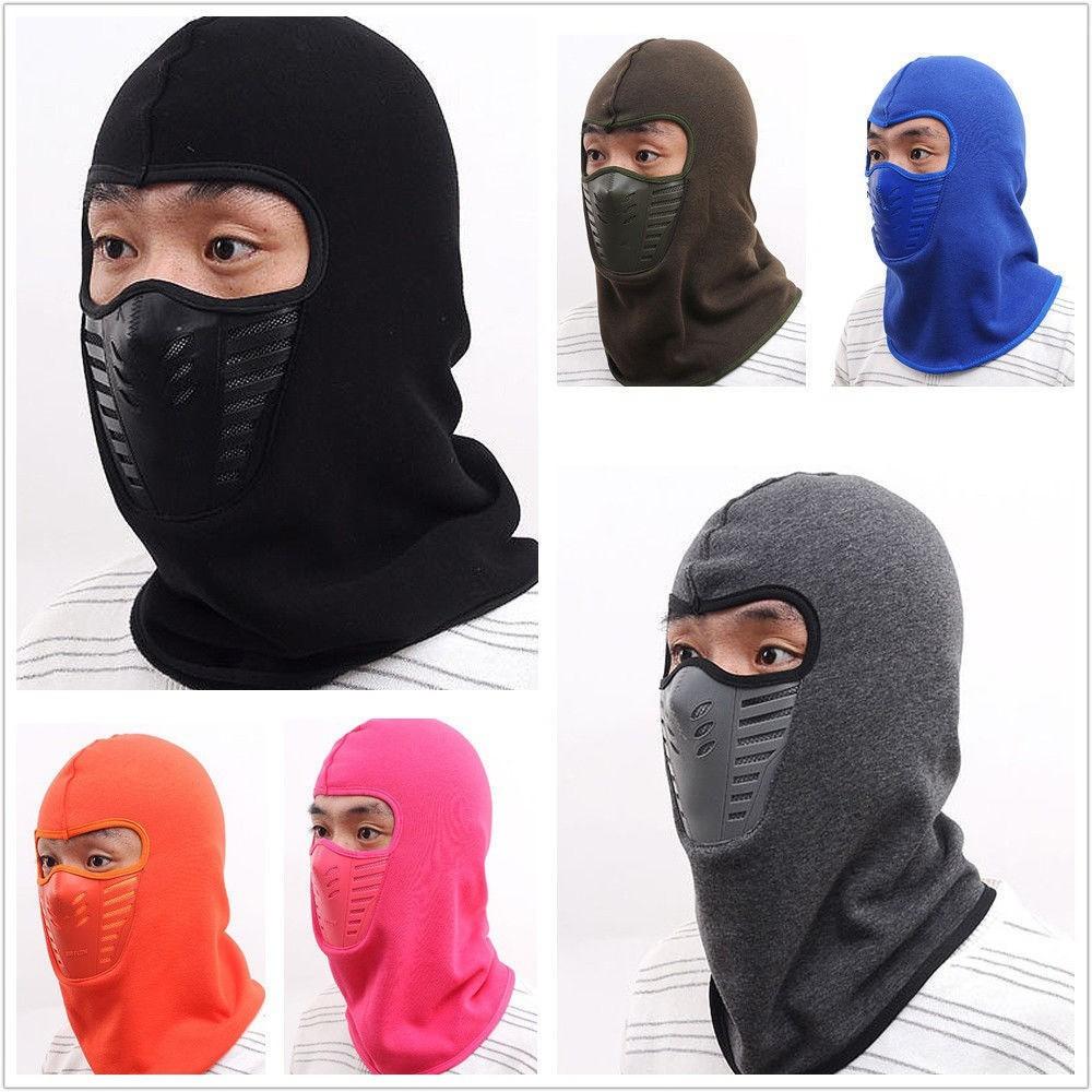 Winter Hats Fleece Scarf Neck Warmer Face Mask Skiing Cycling Hiking Mask