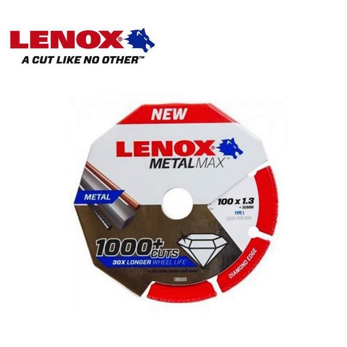 Lenox Metal Max 100mm (4'') 1000+ Cuts Cutting Wheel