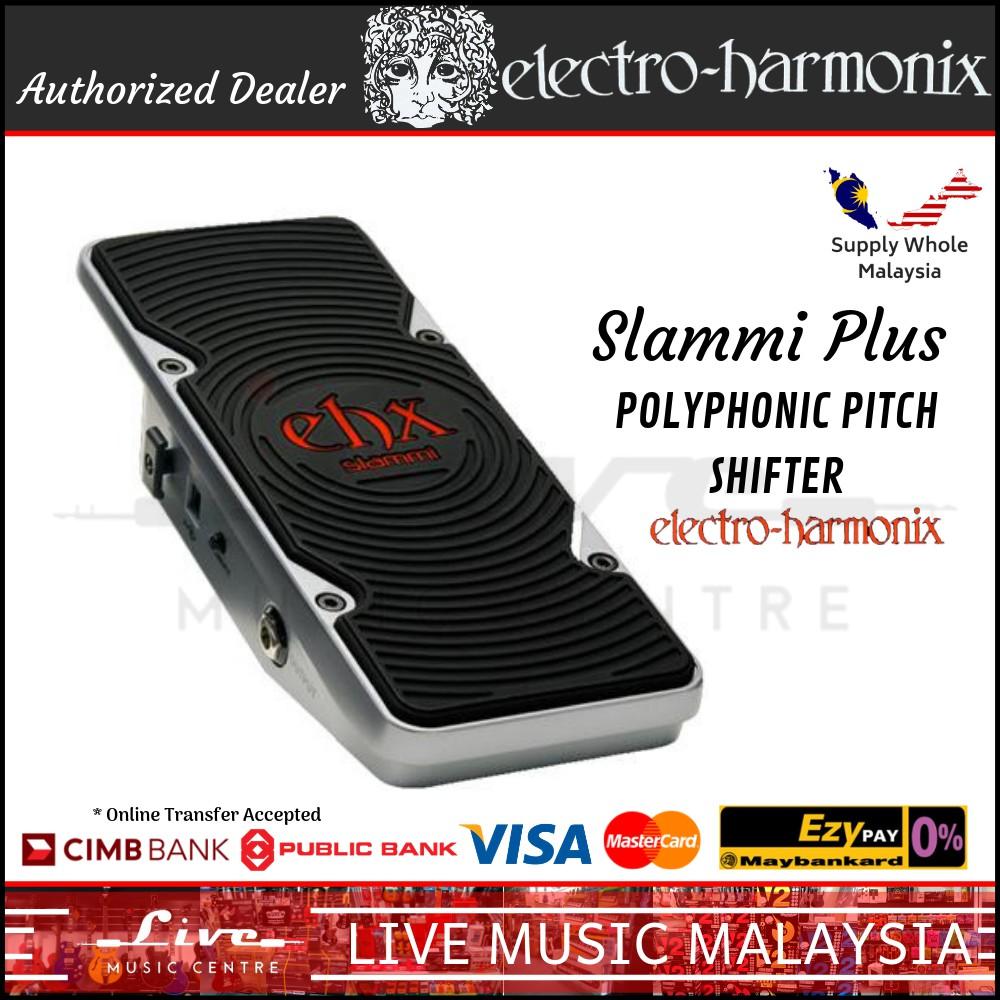 Electro-Harmonix Slammi Plus Polyphonic Pitch Shifter Guitar Effects Pedal