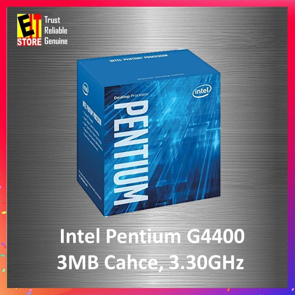 Intel Pentium Processor G4400 3M Cache, 3.30 GHz