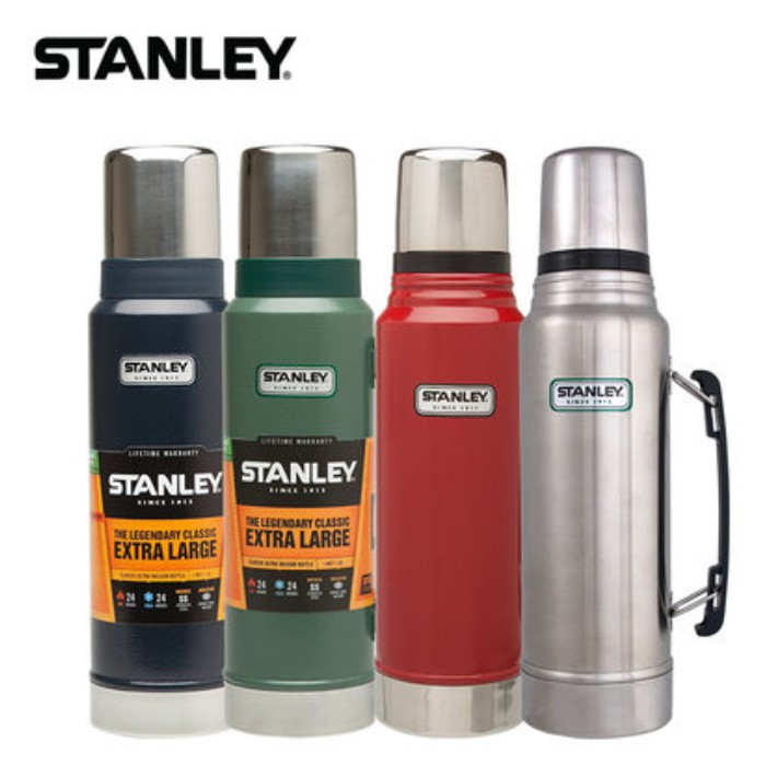 Stanley Classic Vacuum THERMOFLASK WATER KEEP WARM COLD ICE Bottle