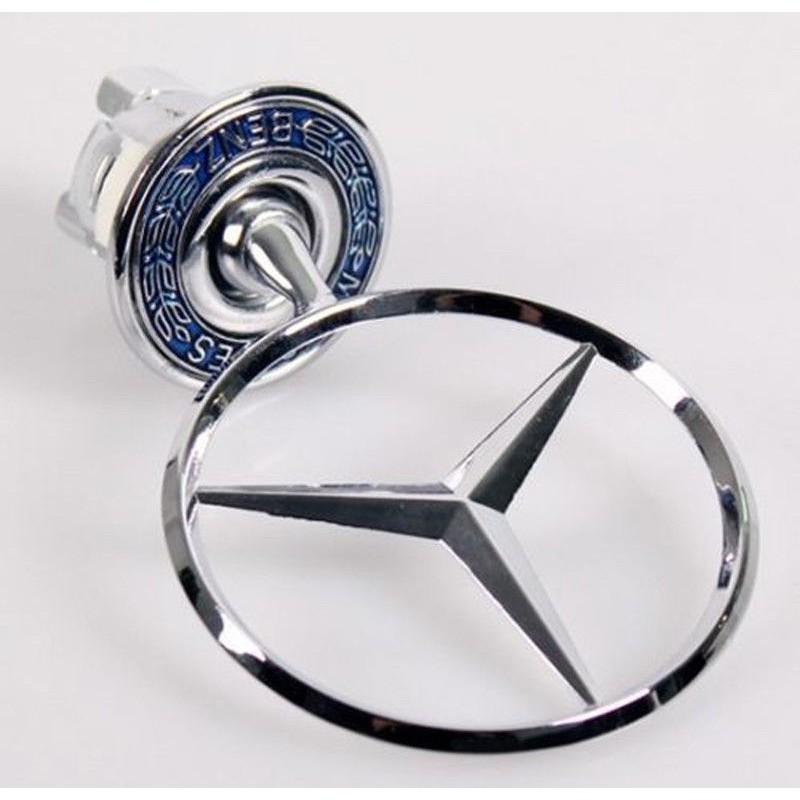 For MERCEDES BENZ Hood Ornament OEM Emblem W210 W202 W203 C200 W211 Silver