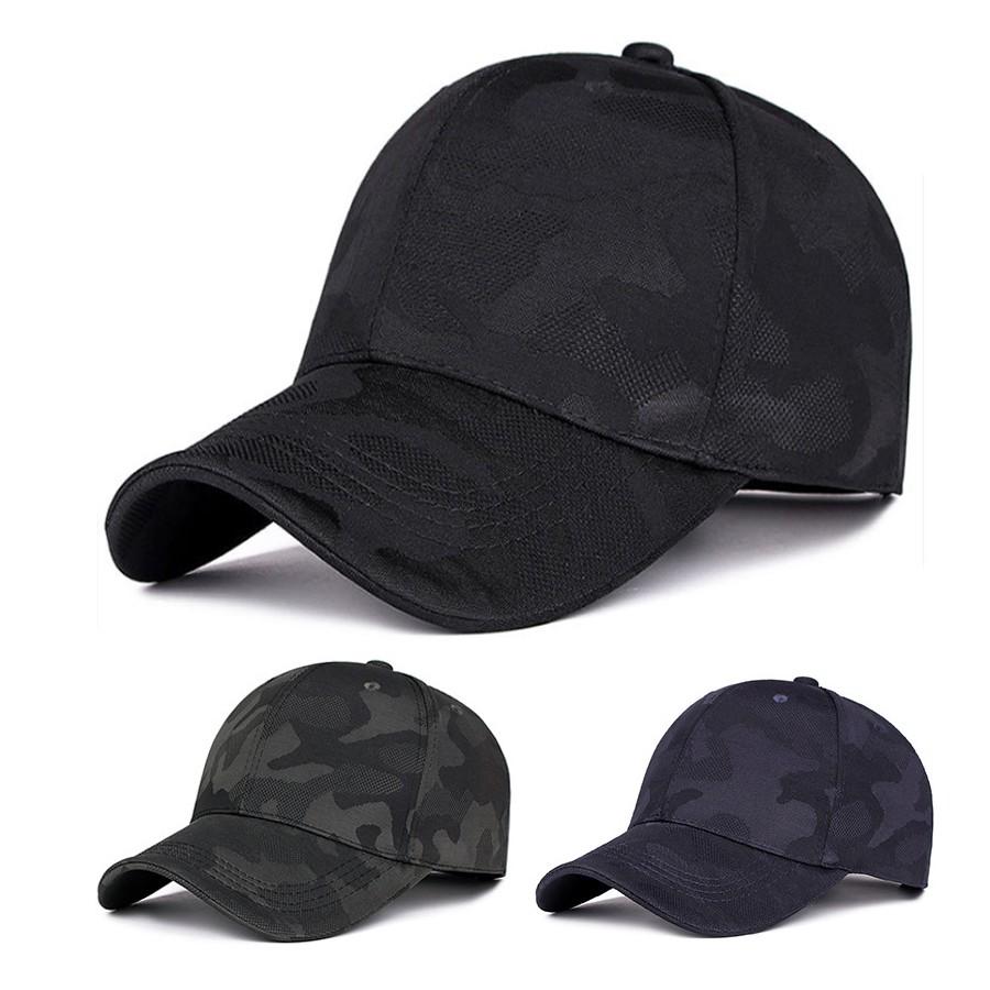 e5a3155215 Topi Baseball Camouflage Hat Unisex Adjustable Sport Cap Golf Hats Casual  Caps Baseball