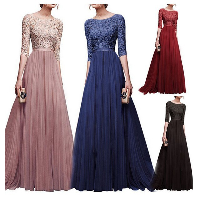 f8f0f25dd7cf9 Evening dress ladies dress Women long party gown evening dress
