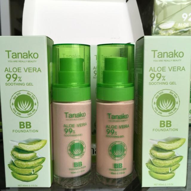 Tanako Aloe Vera 99 Soothing Gel BB Foundation 60ml