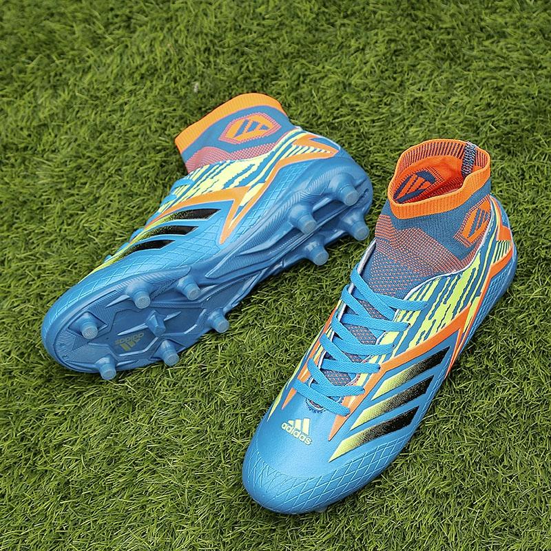 desarrollo de esta noche cometer  Kasut Latihan Profesional Outdoors/Adidas Predator Tango FG Football Shoes  blue | Shopee Malaysia
