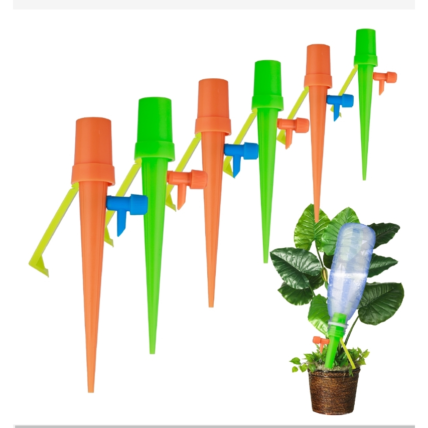Set of 15 Plant Self Watering Spikes Device Automatic Drip Irrigation System
