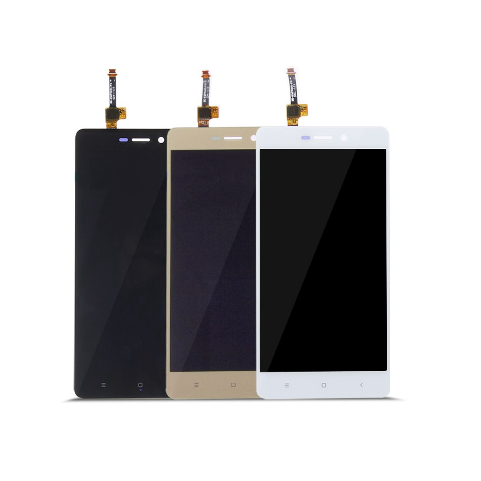 LCD Display Touch Screen Digitizer Assembly For Redmi 3s Black / White /  Golden