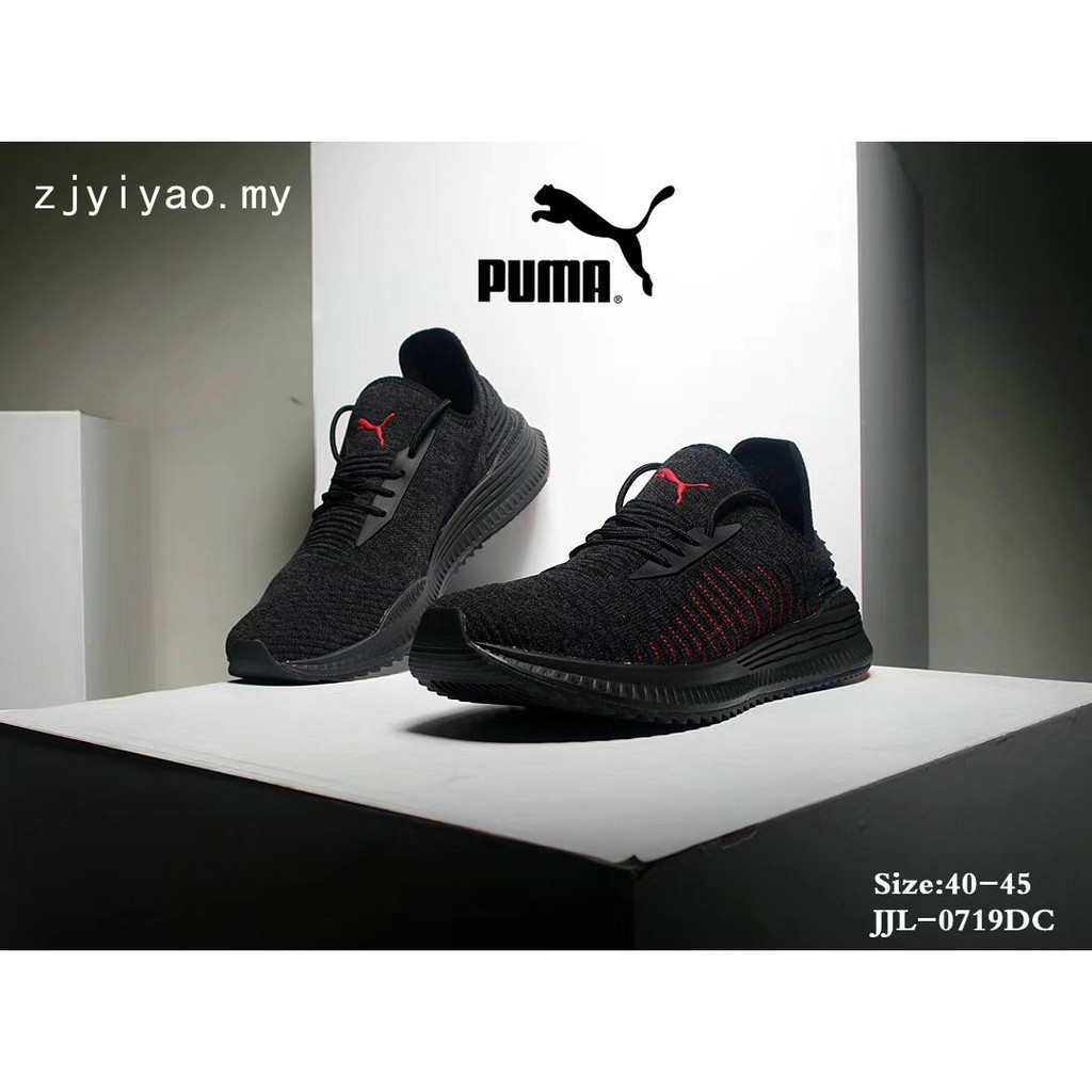 PUMA official men s running shoes Hybrid Rocket Runner 191592 ... f12484bc0