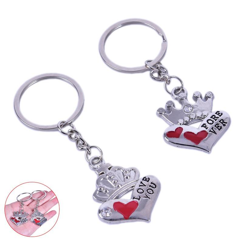 Love 2PCS Sleeping Baby Doll Keychain LOVE Cute Key Ring Holder Keychain Bag Pendant Great as Christmas Gift