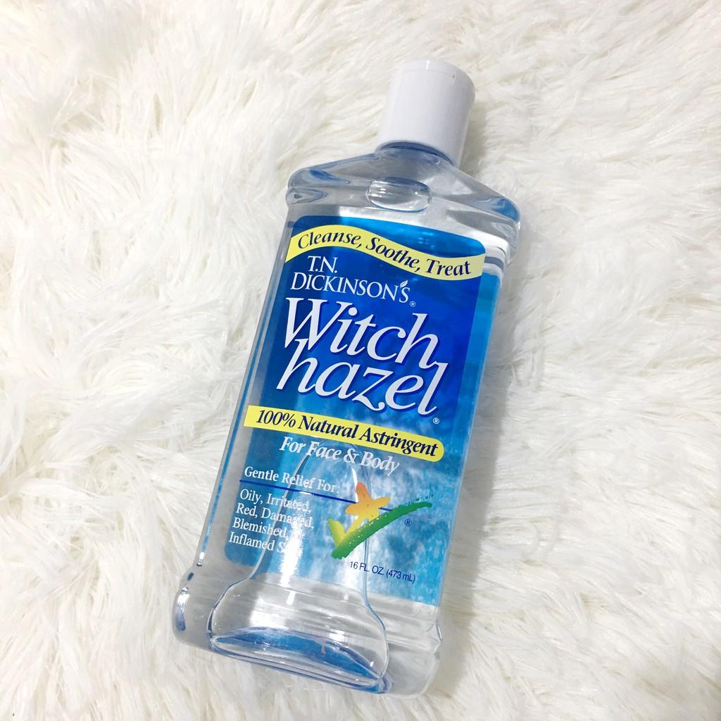 Tn Dickinsons Witch Hazel 100 Natural 473ml Shopee Malaysia Zam Gold Skin Treatment For Serum