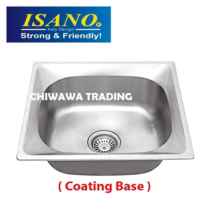 ISANO B616 Stainless Steel Kitchen Sink Bowl Basin Drainer
