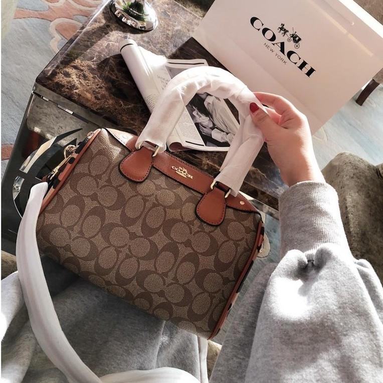 ea70344d274 Coach women's handbag shoulder bag tote Pillow bag 100 original authentic