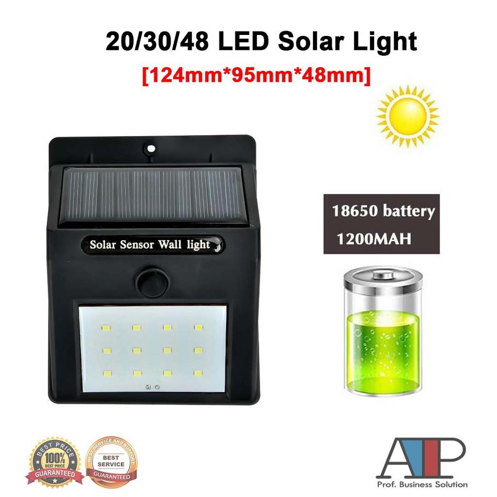 20/30/48 LED Solar Light Motion Sensor Light Control Led Light Waterproof  Wall Light