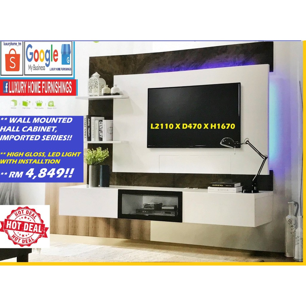 Wall TV Cabinet Series!!