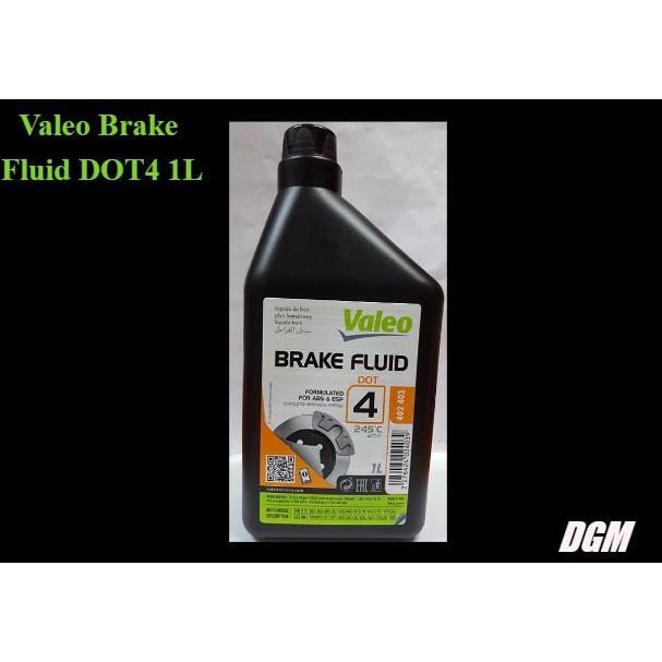 Valeo Brake Fluid DOT4 1L