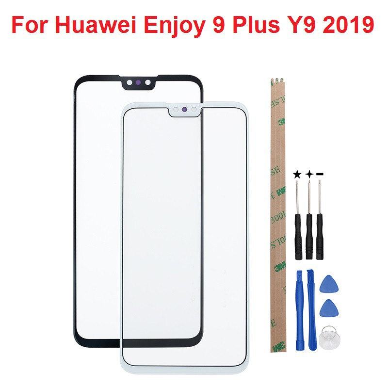 For Huawei Enjoy 9 Plus Y9 2019 Touch Screen Front Outer Glass Panel