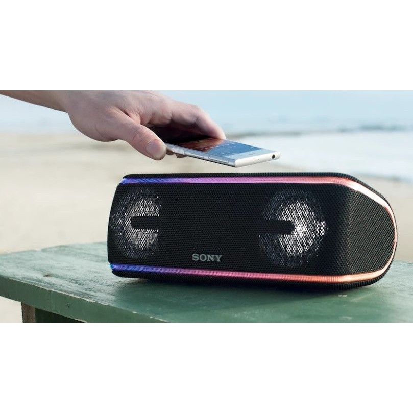 (BURGUNDY RED) SONY SRS-XB41 EXTRA BASS WATERPROOF WIRELESS BLUETOOTH SPEAKER
