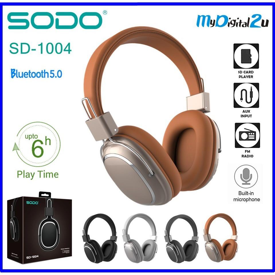 Kết quả hình ảnh cho Tai nghe bluetooth SODO/JBL SD-1004