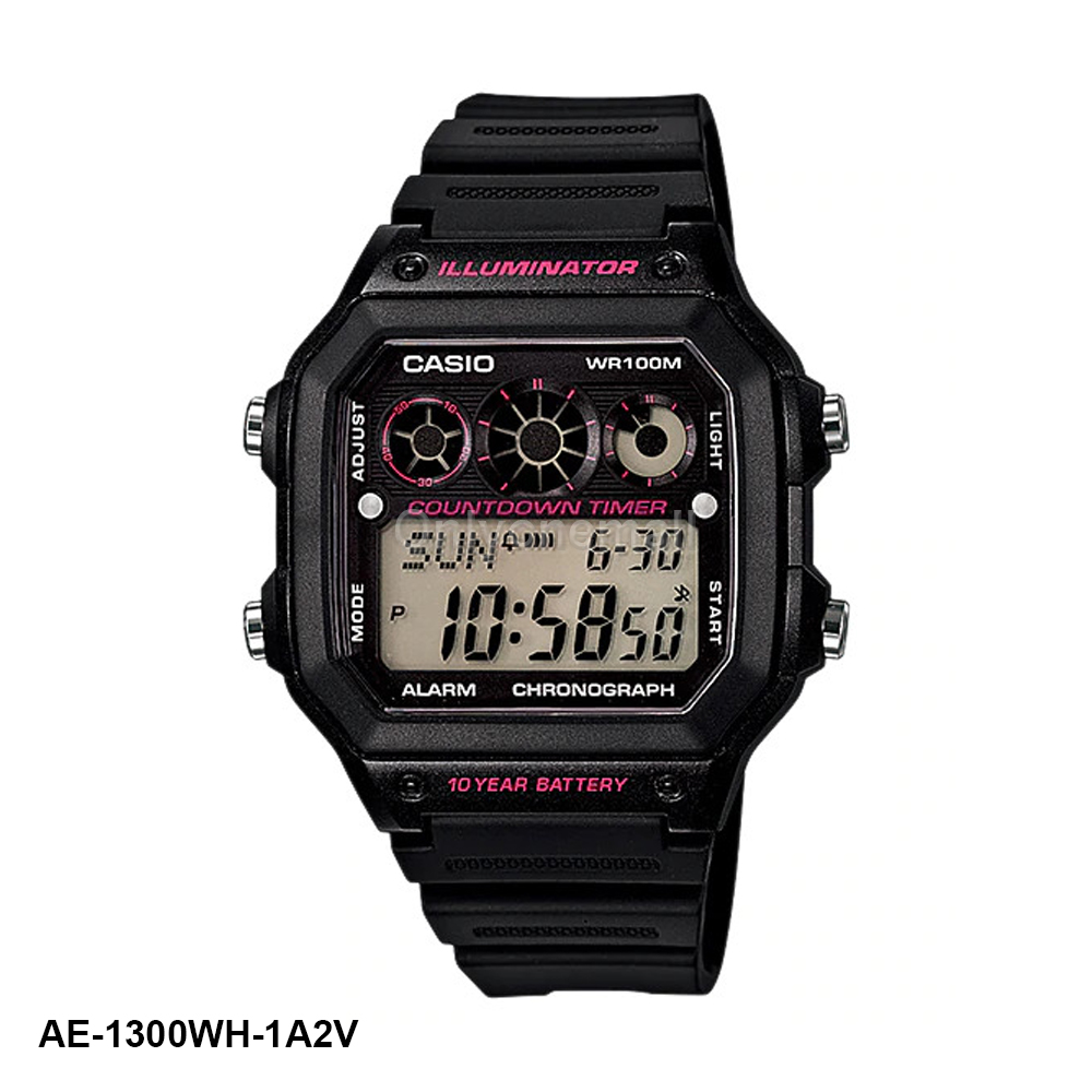 Casio AE-1300WH-1A2V HIIT Training Watch