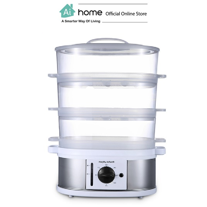 MORPHY RICHARDS Smart Steamer MR1148 (White) with 2 Year Malaysia Warranty [ Ai Home ]