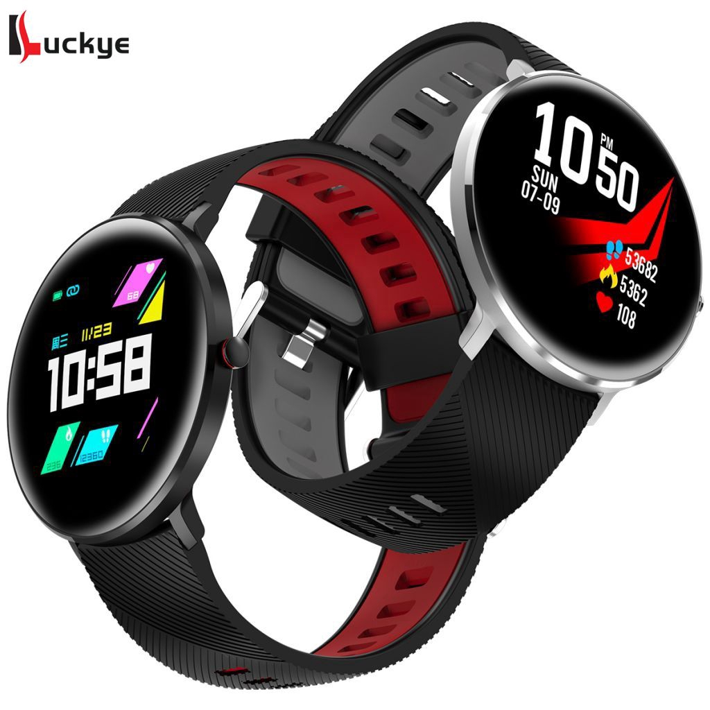 L10 IP68 Water Resistant Smart Watch ECG PPG Heart Blood Pressure Multi-Sports Mode LUYE