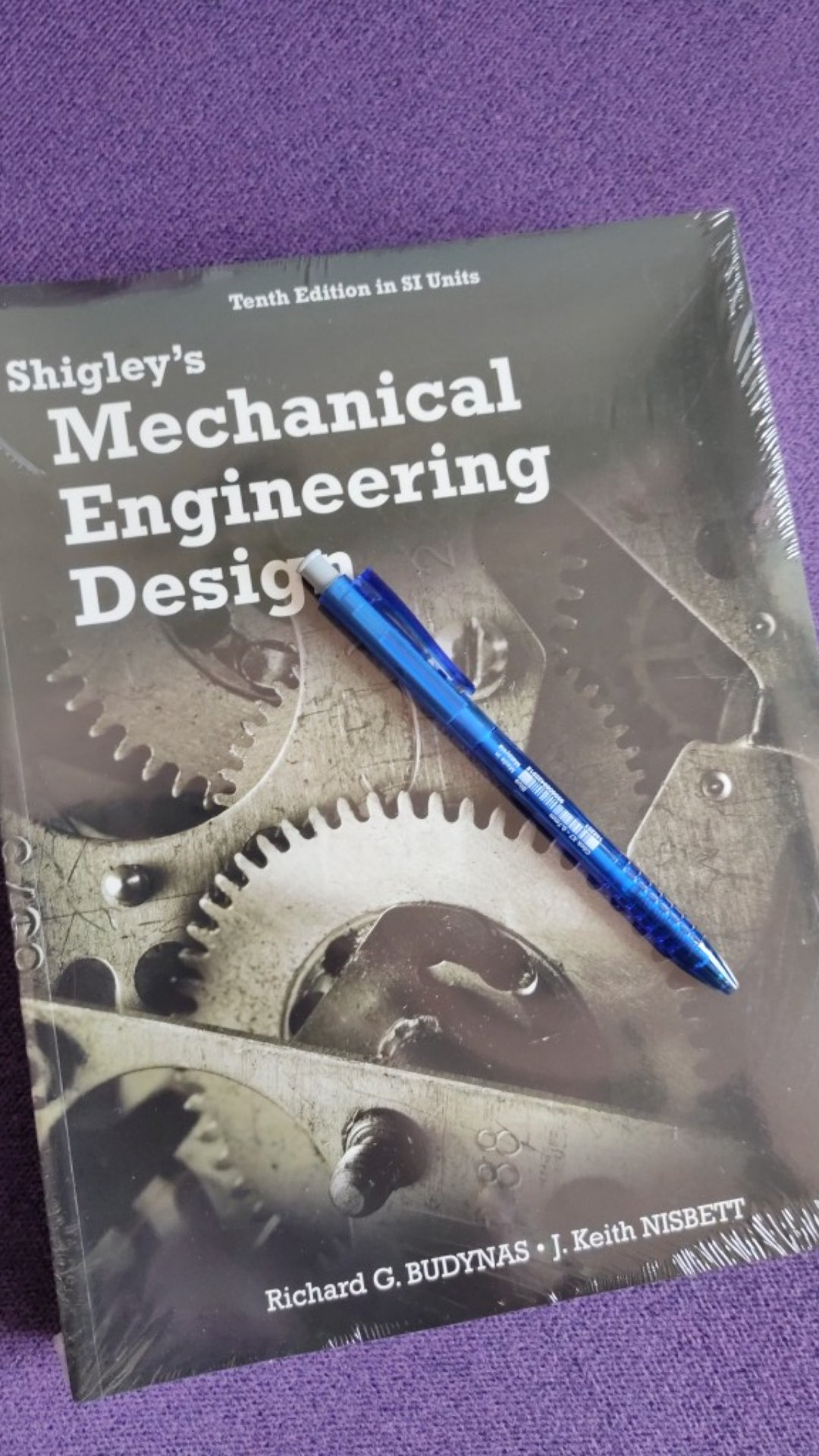 Shigley S Mechanical Engineering Design 10th Edition In Si Units By Richard G Budynas Shopee Malaysia