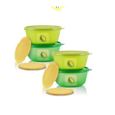 [ READY STOCK ] Tupperware Ultimate Durian Keeper Set / 4 Piece Item / NEW ARRIVAL STOCK
