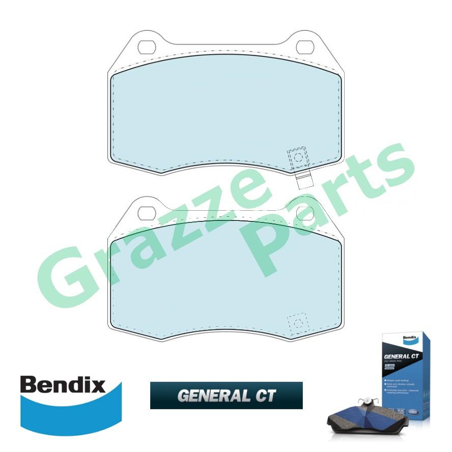Bendix General CT Disc Brake Pad Front for DB1520 Nissan Fairlady Z HZ33 Z33 Skyline BCNR33 CPV35 PV36