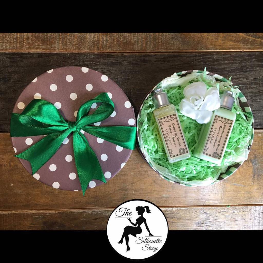 [RAYA SPECIAL] Green Bath Gift Box Set