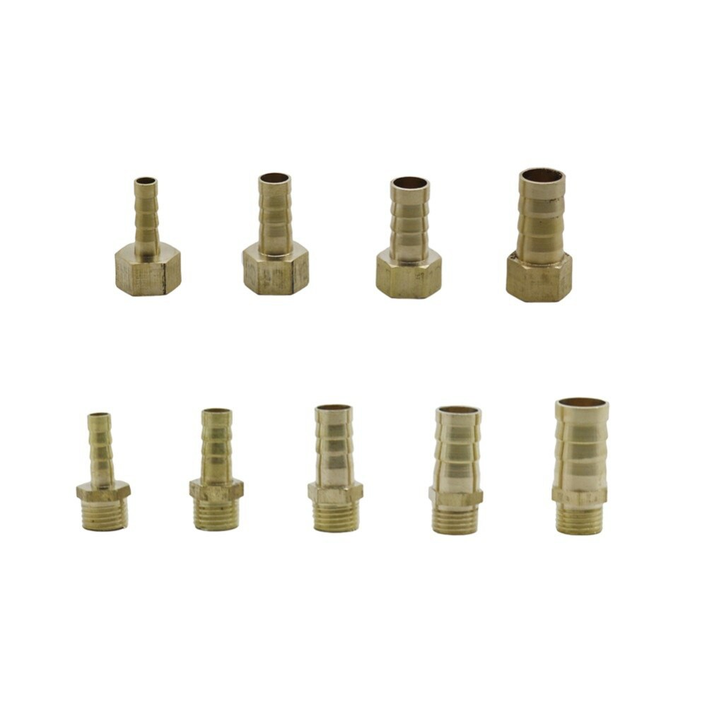 """1//4 Inch Male Thread Pipe X 12MM Barb Hose Tail Connector Adapter 1//4/"""" To 12mm"""