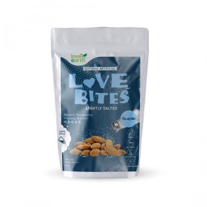 Love Earth Love Bites Salted Almond 盐焗系列 浅烤巴旦木 40g