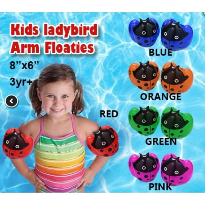 👍M'SIA STOCK] sepasang Kids arm floaties -Pelampung lengan kanak2 Murah