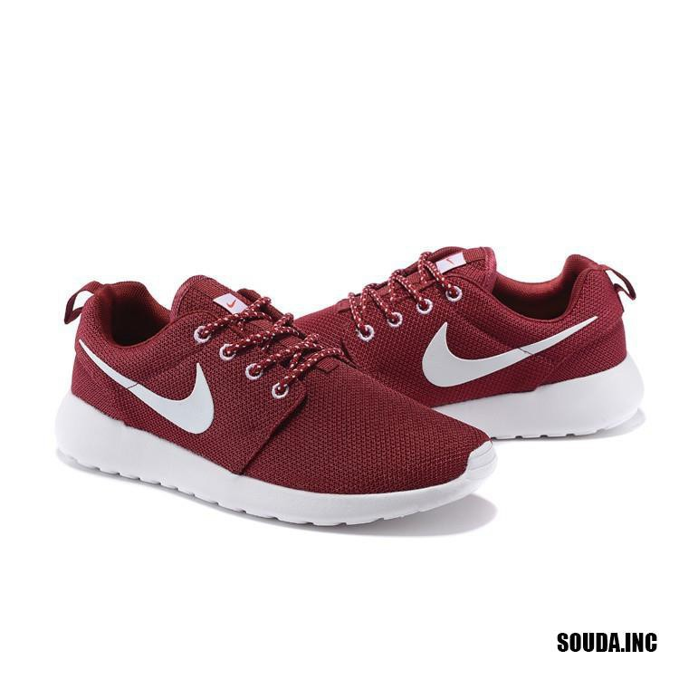 more photos 14ee8 d5d25 Nike Men's and Women's Roshe One Run Running Shoes Burgundy