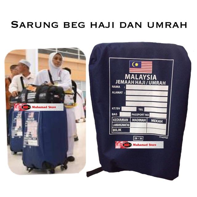 Alas Sarung Beg Haji & Umrah Tebal