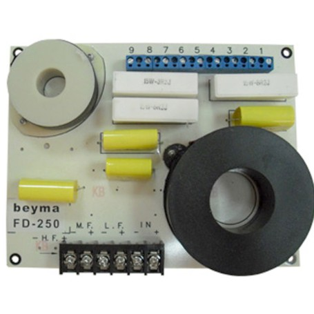 BEYMA FD250 PASSIVE CROSSOVER (MADE IN SPAIN)