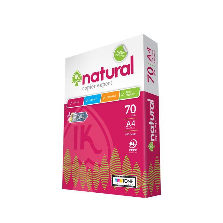 IK Natural 70g A4 Paper - 500's