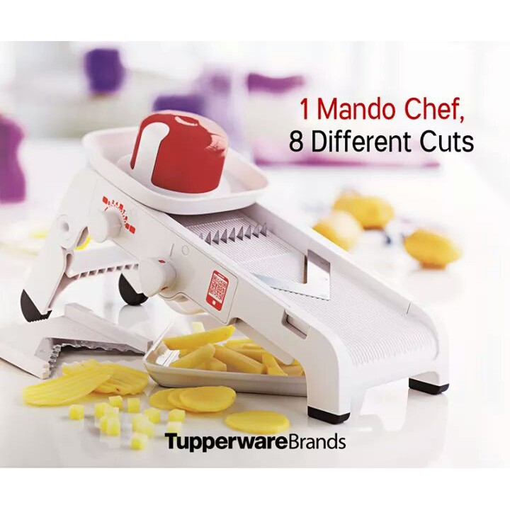 Tupperware MandoChef (1) with Gift Box