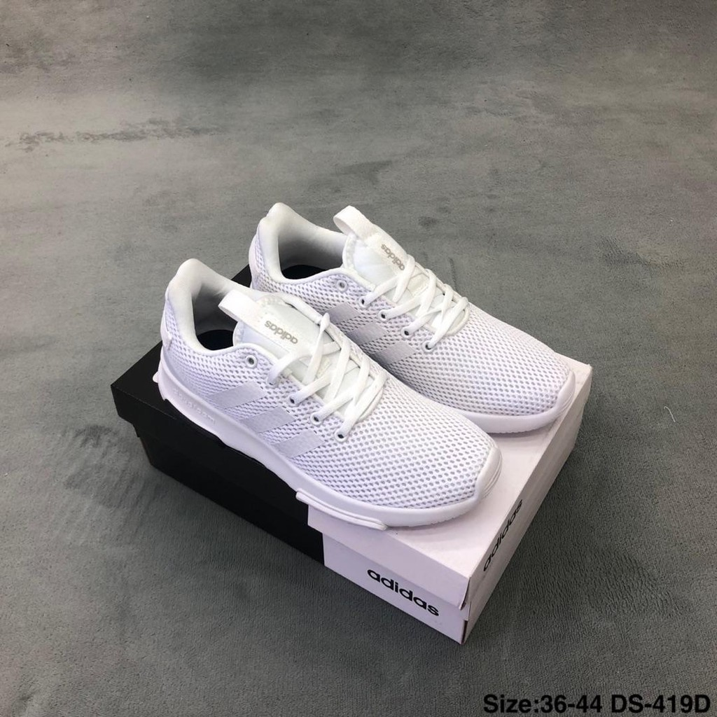 Adidas CF RACER TR NEO sport low top buffeting lightweight casual running shoes