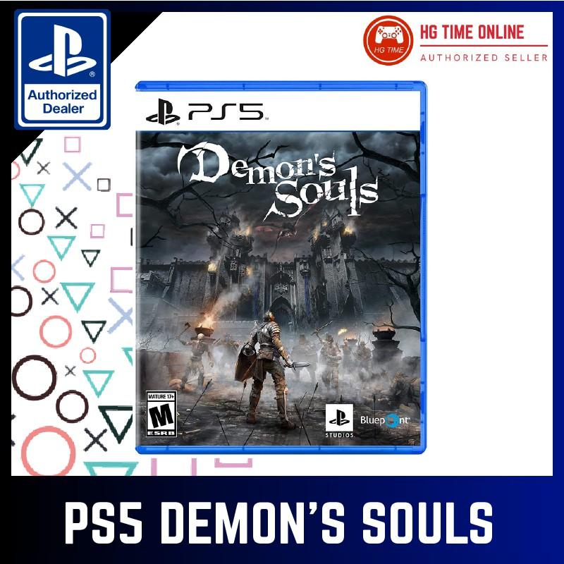 100 Authorized Ps5 Demon S Souls R3 Playstation 5 Ps5 Games Shopee Malaysia