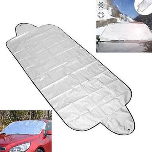 Car Windscreen Cover Anti Snow Frost Ice Shield Dust Cover Heat Sun Shade Wind
