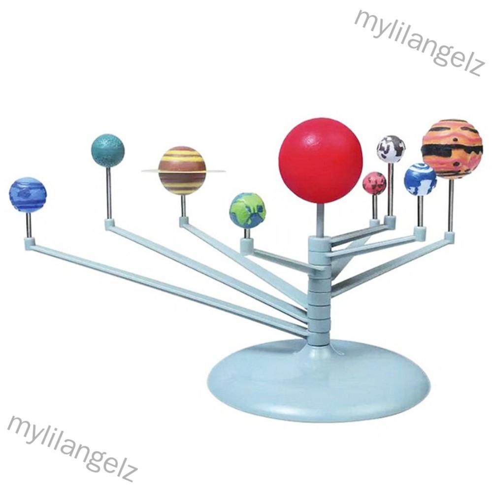 Mylilangelz 3D Solar System Planetarium  Model Learning Science Kits Astronomy Model DIY Toy Gift (READY STOCK)