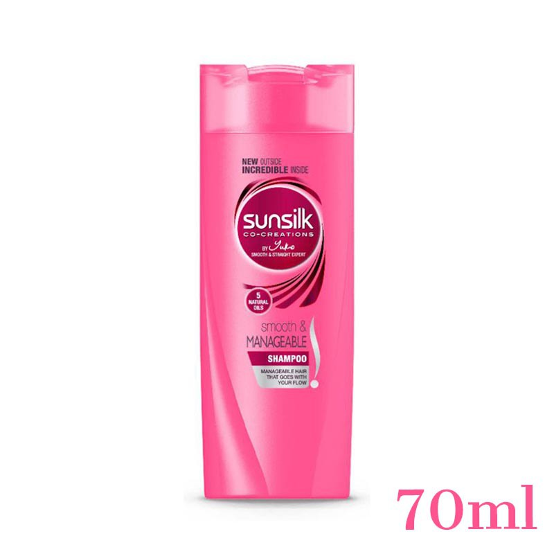 SUNSILK SHAMPOO SMOOTH & MANAGEABLE 70ML