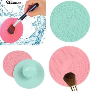💄Round Cleaner Cosmetic Make Up Washing Brush Gel Cleaning