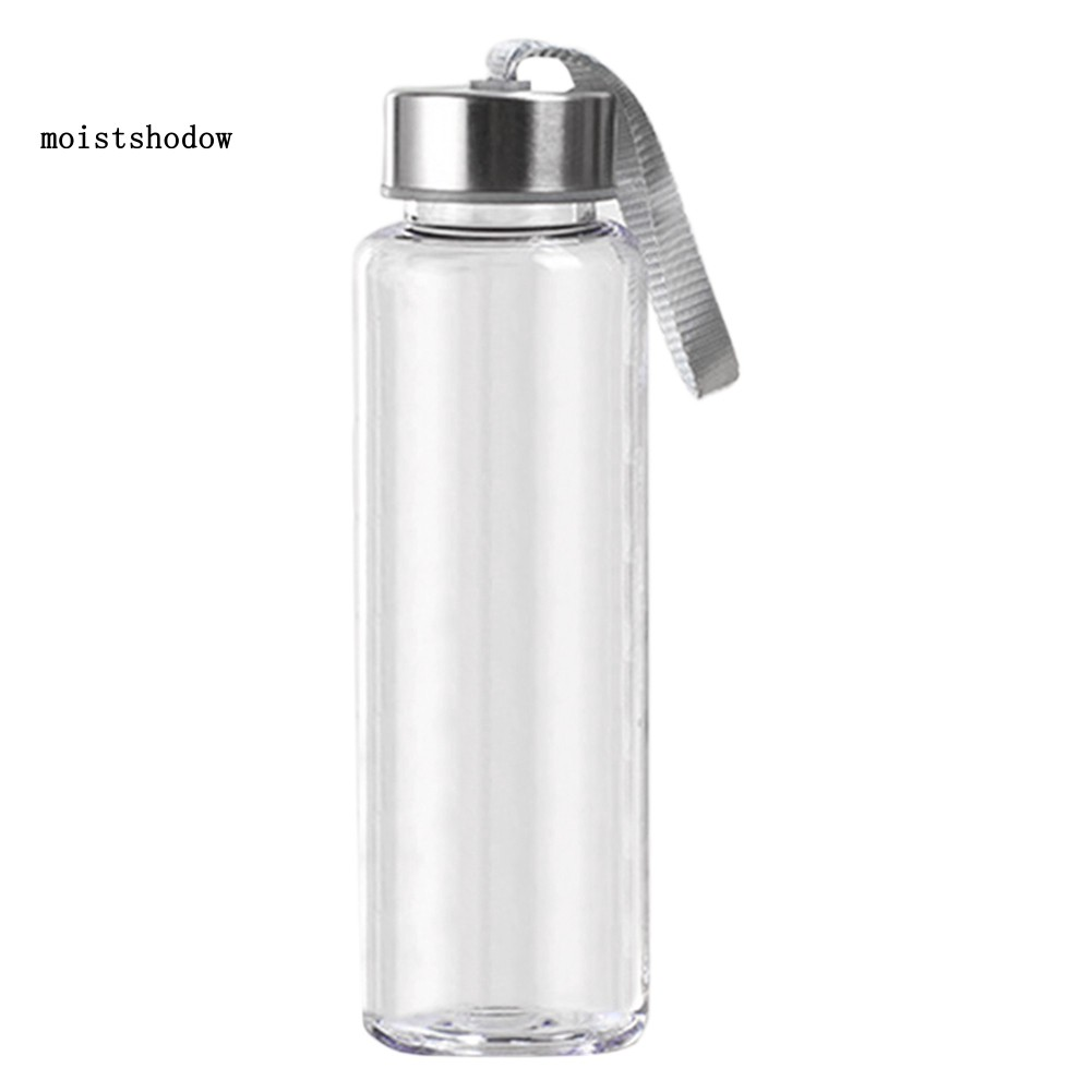 300//400//500ML Transparent Plastic Water Cup Drinking Bottle for Outdoor Sports
