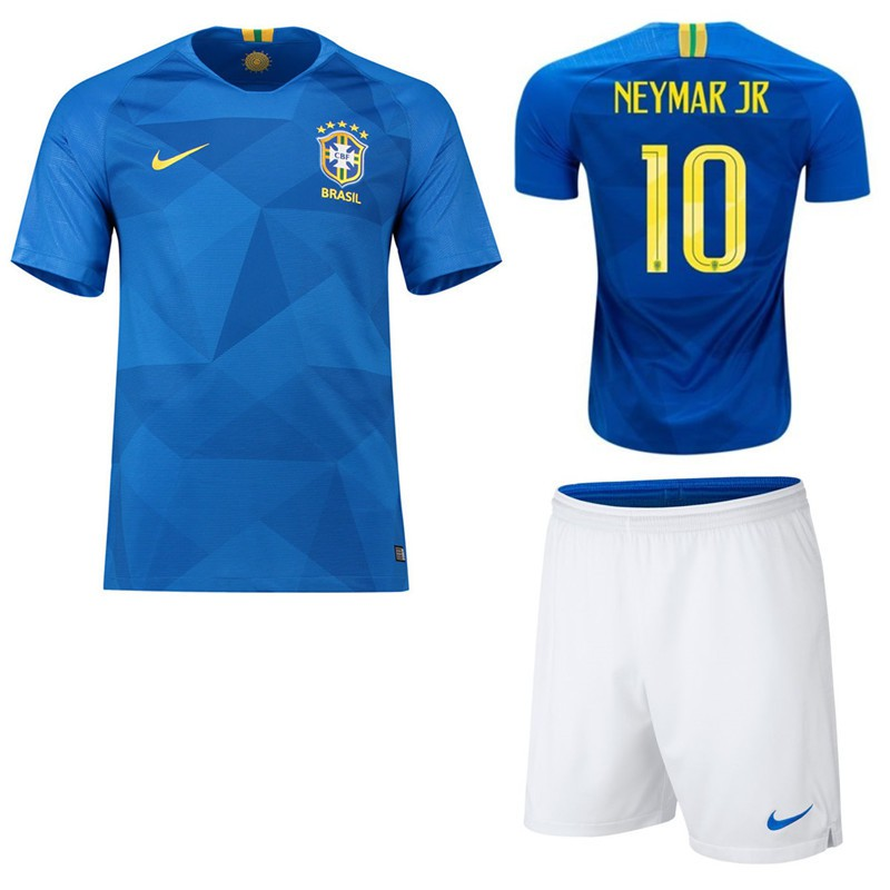 5d5ced839 ProductImage. ProductImage. 2018 World Cup Brazil National Team NO.10  Neymar JR Home kit away kit Football Jersey shirts