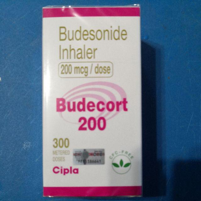 Budecort inhaler cts