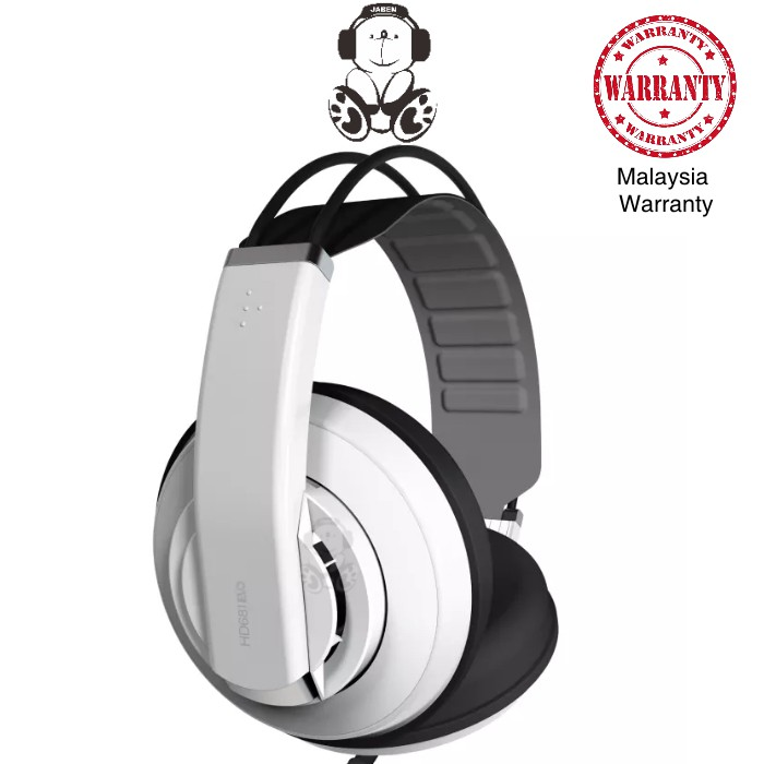 Superlux HD681EVO Professional Monitoring Over-Ear Semi Open Back Headphones [Jaben] HD681