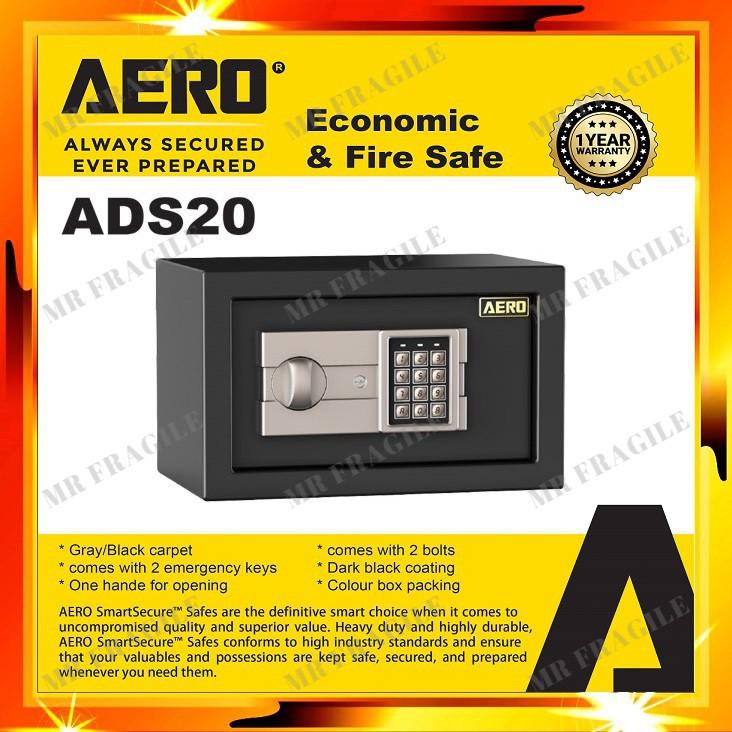 AERO ADS20 Digital SAFETY BOX / SAFE BOX Money Box GRADE A METAL Security Box ADS 20