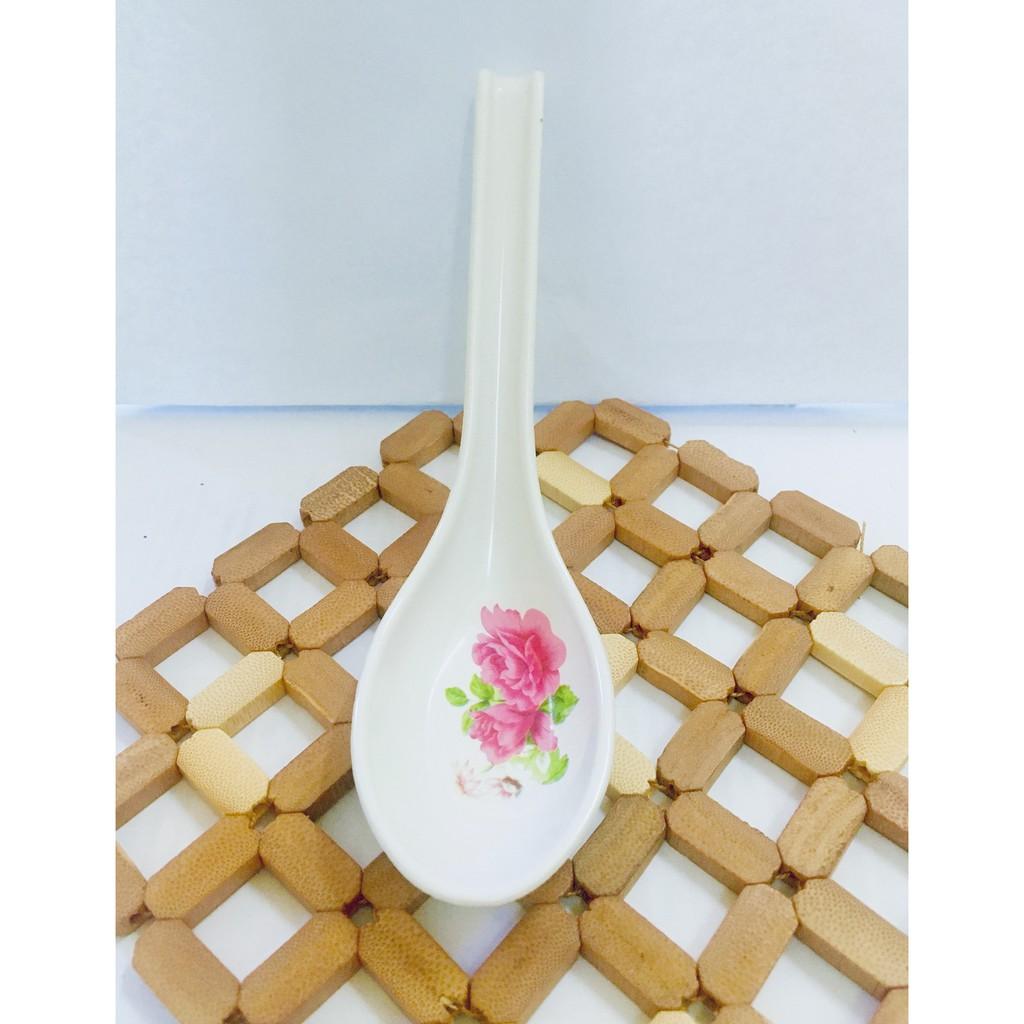 Hook Spoon Long Handle Spoon Porridge Soup Spoon Stirring Spoon Rice Spoon Tableware 6 inches